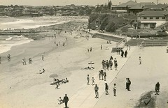 Cronulla Beach, NSW (State Records NSW) Tags: archives staterecordsnsw newsouthwales blackandwhite beach cronulla summer