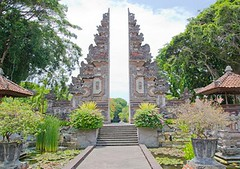 Why choose Bali for a holiday (jancamilleri) Tags: travel stoneobject nonurbanscene nusadua journey greencolor blue cultures architecture vacations urbanscene bali indonesia asia tree landscape cloudsky sky greennature