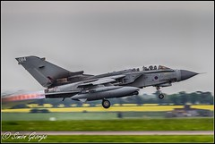 Panavia GR4 Takeoff (simon_x_george) Tags: 2016rafmarham jet military panavia tornado gr4 marham raf takeoff