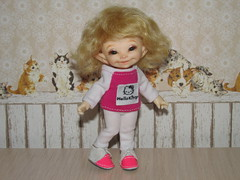 IMG_5633 (cat-soft paws) Tags: handmade clothing costume   kitty hello soso realpuki sneakers white pink joy laughter smile
