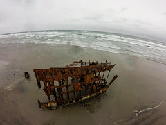 Wreck of the Peter Iredale, Oregon coast, Columbia River (Wind Watcher) Tags: kap windwatcher kite stoweaway delta ship wreck peter iredale