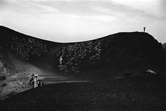(JurgitaSereikaite) Tags: film analog rollei 21 canon a1 bw monochrome iso6 contrast self develop etna volcano sicily italy