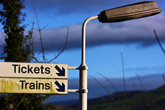 Tickets, trains... (pfrr) Tags: tickets trains autumn cold