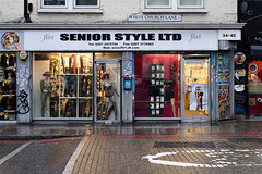 Flirt (cybertect) Tags: canonfd55mmf12aspherical e1 london londone1 sonya7 whitechurchlane whitechapel clothes shop