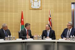جلالة الملك عبدالله الثاني يلتقي رئيس الوزراء النيوزيلاندي، جون كي، وعدد من الوزراء (Royal Hashemite Court) Tags: الأردن الملك نيوزيلندا عبدالله jordan joroyalvisit kingabdullahii kingabdullah new zealand
