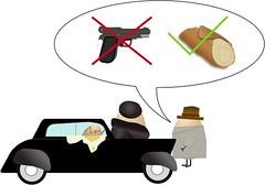 Gun vs Cannoli (Ihatetoast) Tags: sketchapp godfather