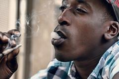 Manu Le Cok - Smoke eye II (Fofinho Onimura) Tags: rap weed smoke look regard 7d canon