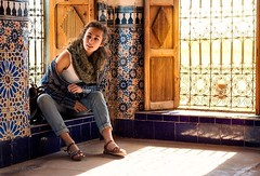 To the kasbah of Taourirt (Studio Hors-champ) Tags: travel city urban light beautiful color art building architecture old marocco morocco