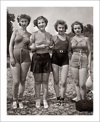 Fashion 0253-09 (Steve Given) Tags: socialhistory familyhistory fashion group ladies women swimwear friends