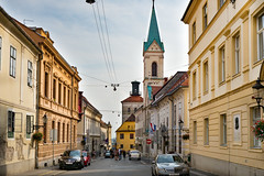 Zagreb - irilometodska ulica (Aelo de la Krotsche) Tags: irilometodskaulica zagreb hrvatska croatia croatie