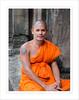 Monk - Cambodia (Maryse Tremblay) Tags: monk people orange tunic marysetremblay angkorwat cambodia men temple