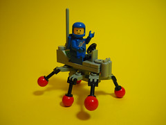 886 Bug (David Roberts 01341) Tags: lego space scifi classicspace minfigure walker allterrain crosscountryrunning vintage febrovery buggy 886 rover transport vehicle