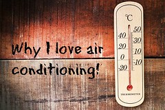 why i love air conditioning (jancamilleri) Tags: meteorology extremesports heatwave fever summersolstice thermometer weather measuring sweat heattemperature control climate nature plant summer season ambiance hotter