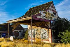Bad Santa (James Marvin Phelps) Tags: jamesmarvinphelpsphotography ghosttown jamesmarvinphelps mojavedesert santasworkshop arizona photography highway93 mohavecounty jmpphotography
