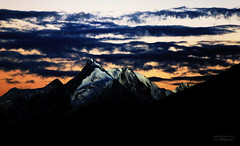 Golden Peak, Spantik (Rohaan Ali Photographics) Tags: golden peak spantik gilgit baltistan pakistan northern areas beauty majestic sunset mountains cloudscape dramatic light rohaan ali photographics