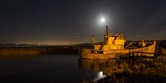 Bright Moonlight (cango_uk) Tags: humberbridge ship longexposure
