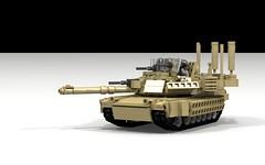 M1A2 TUSK II (Anthony.Kong...) Tags: m1a2 abrams tank military lego army ldd legodigitaldesigner armor m1 usarmy