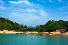 Lalakhal (Rafio Islam) Tags: river riverbank bangladesh boat boatriver lalakhal sylhet landscape lake water outdoor blue bluesky bluewater blueriver green nature
