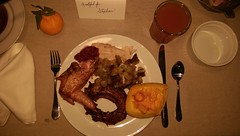 IMAG1948_Thanksgiving Day Plate (sdttds) Tags: thanksgiving meal food grateful turkey stuffing pumpkin cranberry 366in2016 328of366 pictureoftheday november242016