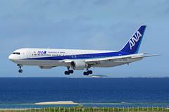 All Nippon Airways (ANA) Boeing 767-381(ER) JA606A (EK056) Tags: all nippon airways ana boeing 767381er ja606a naha airport