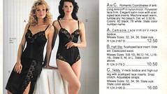 1980's? Unknown Catalog from an Unknown Year (lynn_morton3500) Tags: lingerie ladieswear ladies blonde brunette 1980s 1982 retro vintage underwear teddy waistslip halfslip camisole