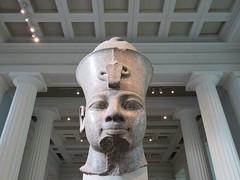 UK - London - West End - British Museum - Amenhotep III (JulesFoto) Tags: uk england london westend britishmuseum ancientegypt amenhotep bust sculpture pharoah