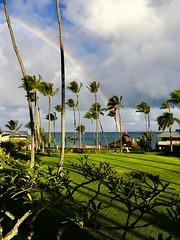 Napili Rainbow (Thanks for over 1.5 Million Views!) Tags: ipadpro apple maui napili rainbow clouds rain wind hawaii