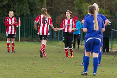 Altrincham LFC vs Stockport County LFC - December 2016-147 (MichaelRipleyPhotography) Tags: altrincham altrinchamfc altrinchamlfc altrinchamladies alty amateur ball community fans football footy header kick ladies ladiesfootball league merseyvalley nwrl nwrldivsion1south nonleague pass pitch referee robins shoot shot soccer stockportcountylfc stockportcountyladies supporters tackle team womensfootball