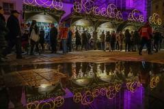 Streets of Vienna (karinavera) Tags: travel sonya7r2 street christmas vienna wien viena urban night lights people walking city