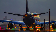747 boeing (mrsyclone) Tags: lovely night boeing 747 mia miami aircraft takeoff airbus 747400 cargo atlas