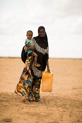 Nimo Abdi, a mother of 2,  resides in Jigjiga, Jila Alu Kebele. She used to travel for eight hours daily to get 2 jerry cans of water. (UNICEF Ethiopia) Tags: emergencies jigjiga unicef water drought naturaldisaster wash watersupply waterandsanitation wateraccess