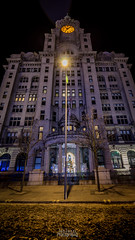 The Royal Liver Building (TehJazzi Photography) Tags: liverpool city centre photography long exposure colours albert dock salthouse liver building canon nikon d5500 100d wide angle 10mm 50mm 30mm prime american diner bus old school retro life ring christmas lights festival wheel echo arena reflections water quay boat port winter dark shows rides fun fair beatles story artistic photographer canvas prints