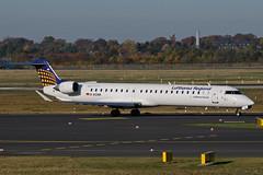 D-ACNR (Lufthansa Regional - CityLine) (Steelhead 2010) Tags: lufthansa lufthansaregional lufthansacityline bombardier crj crj900 dus dreg dacnr