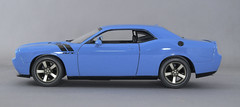 2009 Dodge Challenger Petty Blue 3-2 (rbungay@rogers.com) Tags: 2009dodgechallenger amt125modelcar musclecar mopar bluecar gravitycolorspettyblue