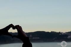 Sea Love (JadeDarkRose) Tags: nikon nikond7100 d7100 españa spain asturias nature naturaleza lastres playa beach lagriega colunga moon luna moonlight