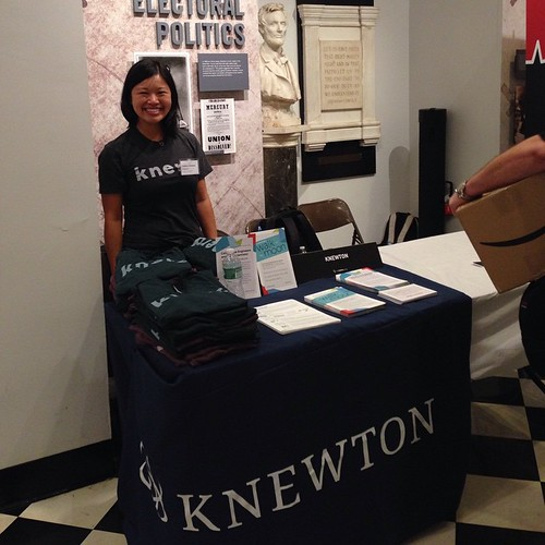 Recruiting at Cooper Union today with fellow #knerd and alumni Christina #knewton
