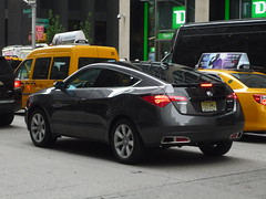 Acura ZDX (JLaw45) Tags: road street new york city nyc urban japan america honda asian japanese asia state metro manhattan united north east midtown metropolis states avenue northeast import acura crossover worldcars zdx