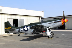 P-51D Mustang (Explored) (twm1340) Tags: ca museum airport air north explore american mustang warbird chino p51 p51d planesoffame naa explore97 stevehinton n7715c 4484961a