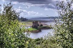 Castle Stalker (scrapping61) Tags: castle island scotland unitedkingdom argyll keep loch legacy sincity tistheseason 2014 lochlinnhe lochlaich scrapping61 daarklands trolledproud pinnaclephotography