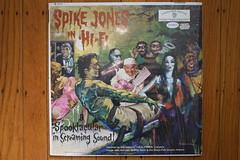 Spike Jones In Hi-Fi LP (Warner Bros. 1959) (Donald Deveau) Tags: werewolf vampire frankenstein lp record monsters phantomoftheopera mrhyde spikejones maddoctor