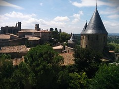 Turreted view (soulfulpoignant) Tags: france french view medieval historic turret carcassonne turrets viel francais southernfrance languedocroussillon scenicview medievalhistory langeudoc frenchhistory lacitdecarcassonne latemiddleages frenchmedieval medievalfrenchhistory frenchmedievalhistory