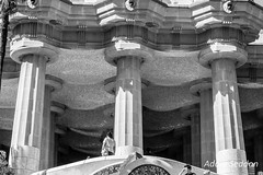 Gaudi Guell 2014-137 (Adam_12) Tags: barcelona architecture spain europe modernism unesco gaudi catalan parkguell worldheritage