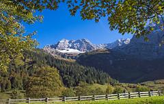 The grass is always greener on the other side! (werner boehm *) Tags: mountain austria sterreich berge eng groserahornboden wernerboehm