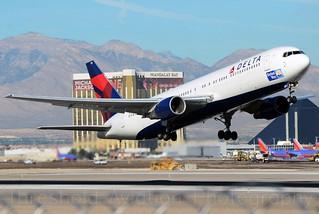 N139DL | 767-332 | Delta Air Lines |  KLAS