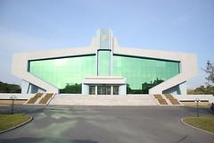 Mangyongdae Swimming Sports Hall (Ray Cunningham) Tags: north korea pyongyang dprk coreadelnorte