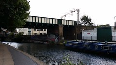 London Hackney (V - UK (Thanks for 2.5 Million+ views)) Tags: city uk sky london graffiti canal rover british blocks regents cityoflondon londonhackney ukgb