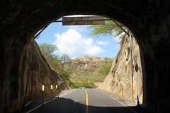 Diamond Head Crater (Prayitno / Thank you for (11 millions +) views) Tags: from road island hawaii view oahu head tunnel diamond crater diamondhead access hi honolulu hnl leahi konomark