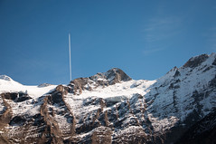 (  Abdallah Al-Qahtani   ) Tags: sky mountain plane nikon power space picture pic  d90
