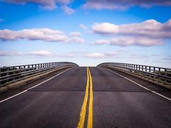 Kaitaisten silta (mariaosterman) Tags: road bridge sky clouds finland archipelago kustavi kaitainen epl5 kaitaistenrauma