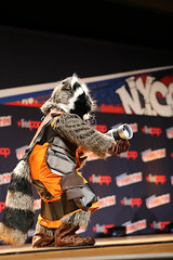 New York Comic Con 2014 - Rocket Raccoon (Rich.S.) Tags: new york movie comic cosplay galaxy convention rocket raccoon championships marvel eastern con guardians 2014 nycc